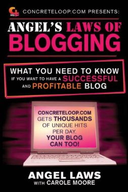 Concrete Loop's Founder Angela 's book on blogging